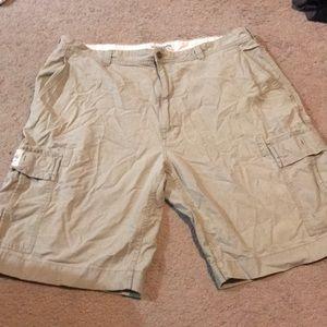 Ralfh Lauren - polo jean company - khaki shorts